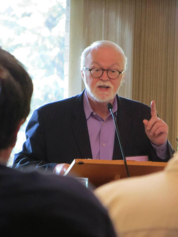 Dr. Timothy George. Photo by André Lavergne, ELCIC