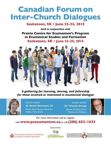 Canadian Forum on Inter-Church Dialogues, 2015